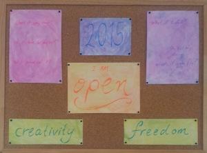 Inspiration board 2015